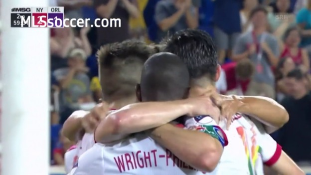 Video «Die Tore bei New York Red Bulls - Orlando City» abspielen