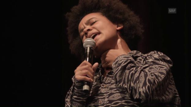 Video «Die Gewinnerin des Secondo Slams: Fatima Moumouni» abspielen