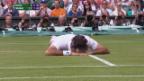 Video «Federer scheitert an Raonic» abspielen