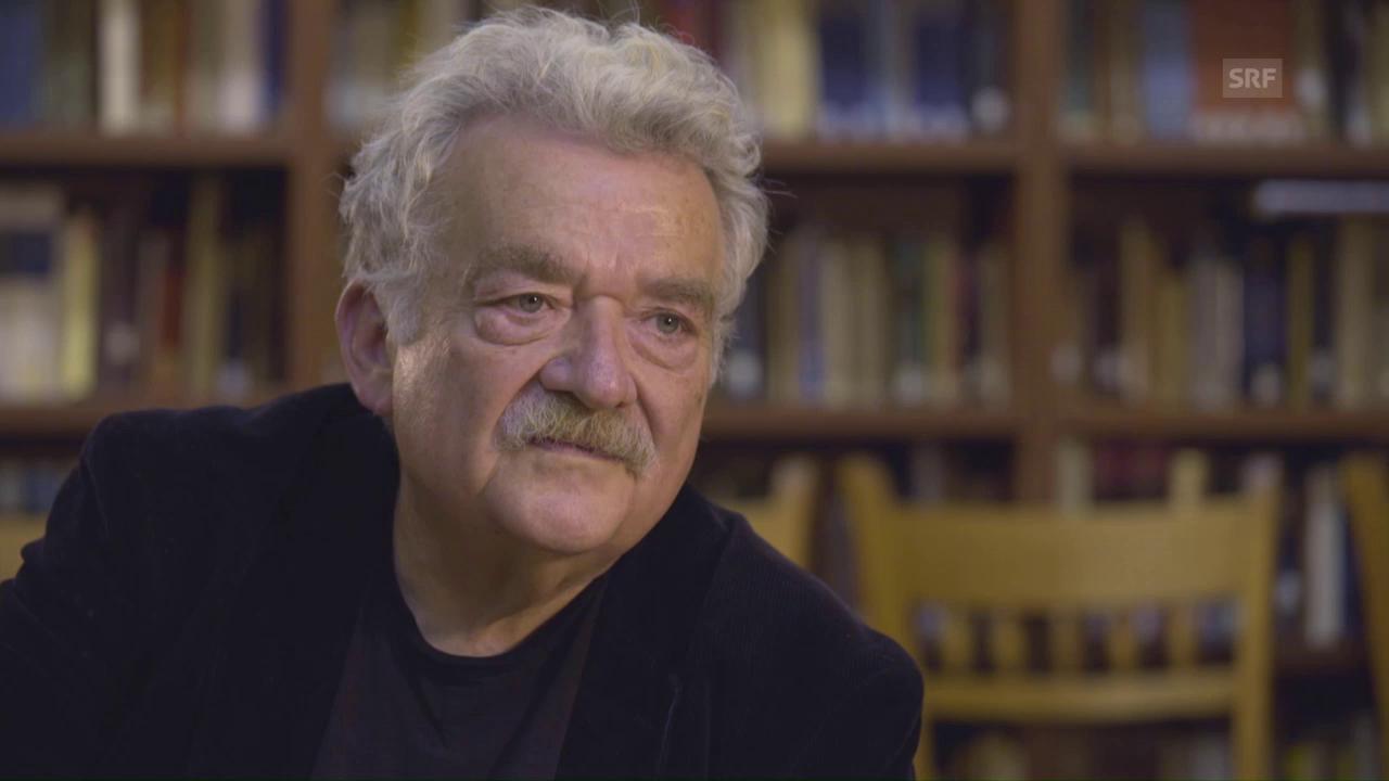 Hans Ulrich Gumbrecht: «Unsere Zukunft ist besetzt von Gefahren»