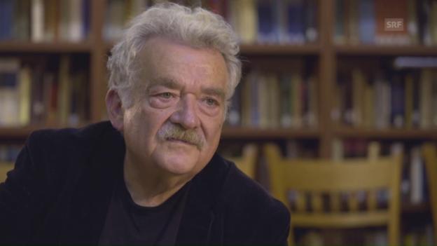 Video «Hans Ulrich Gumbrecht: «Unsere Zukunft ist besetzt von Gefahren»» abspielen