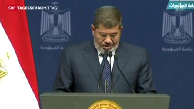 Mursi macht Zugeständnisse