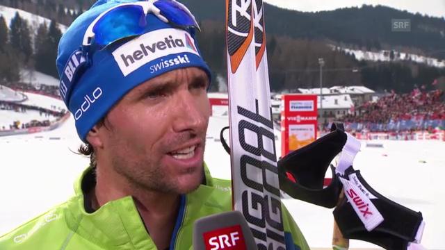 Ski nordisch: Interview mit Curdin Perl