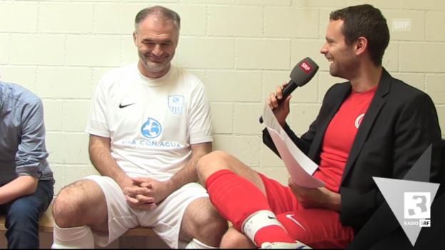 Video ««Besser als Büsser» mit Stéphane Chapuisat» abspielen