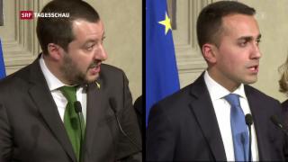 Video «Regierungsbildung in Italien zieht sich hin» abspielen