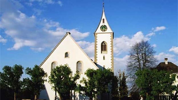 Glockengeläut der paritätischen Kirche in Thal