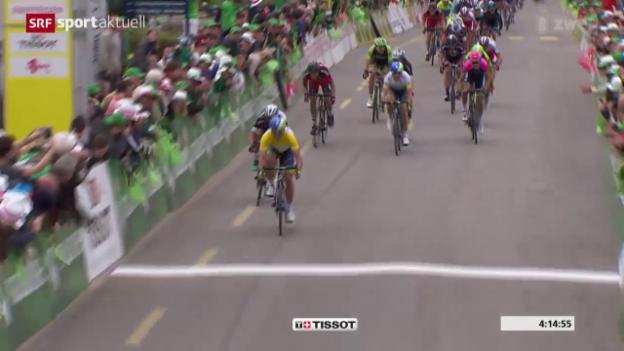 Video «Rad: Tour de Romandie 2015, 3. Etappe,» abspielen