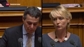 Video «FDP an mehreren Fronten gefordert» abspielen