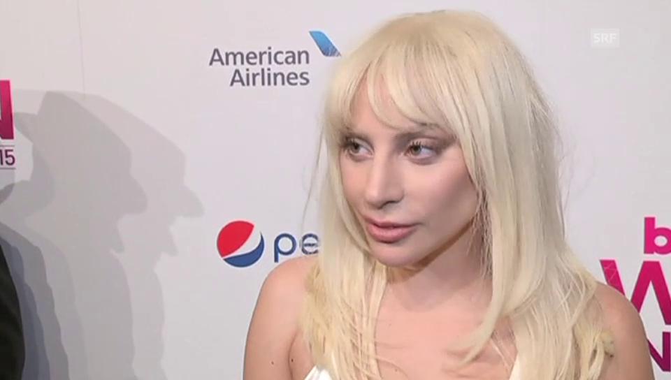 Lady Gaga über die Wahl zur «Frau des Jahres»