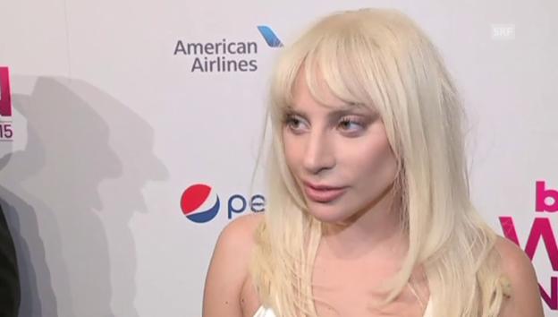 Video «Lady Gaga über die Wahl zur «Frau des Jahres»» abspielen