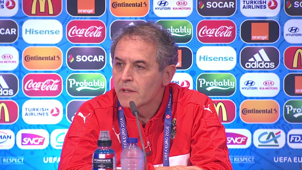 Koller: «Müssen anders spielen als gegen Ungarn»
