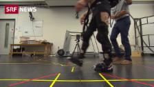 Link öffnet eine Lightbox. Video Hightech-Leggings sollen bei Geheinschränkungen helfen abspielen