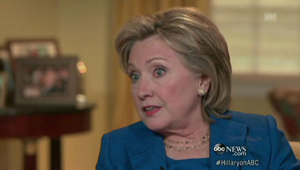 Clinton über ihre Zeit nach dem Weissen Haus (englisch)