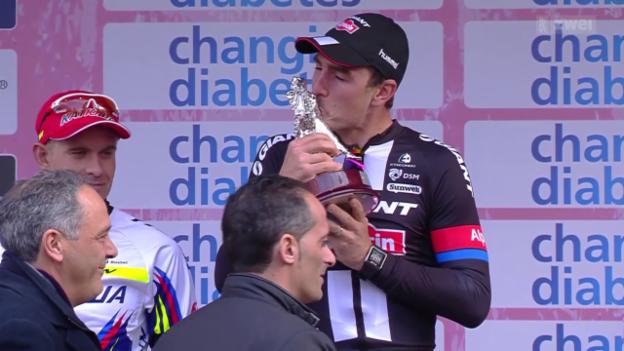 Video «Rad: Strassenrennen Mailand - San Remo» abspielen