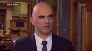 Video «FOKUS: Bundesrat Alain Berset zieht Fazit zur Rentenreform» abspielen