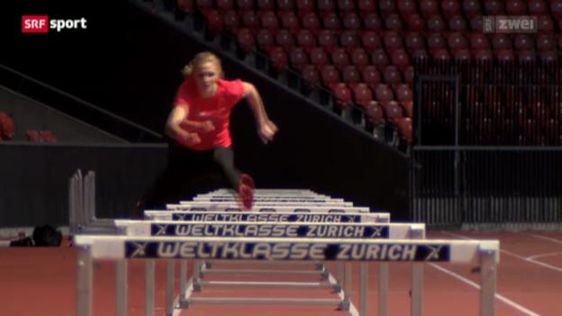 Video «Leichtathletik: Lisa Urechs Comeback-Vorbereitung» abspielen