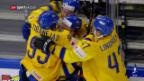 Video «Schweden zieht in den WM-Final ein» abspielen