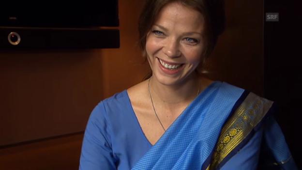 Video «Jessica Schwarz über ihre Rolle in «Der Koch»» abspielen
