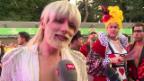 Video «Ein halbes Jahrhundert: Prominente im Einsatz für die Aids-Hilfe» abspielen
