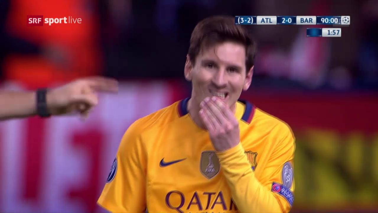 Atletico wirft Barcelona aus der CL