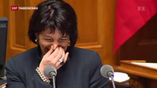 Video «Auch Doris Leuthard tritt zurück» abspielen