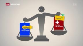Video ««Fremde Richter» ohne Gegenvorschlag» abspielen