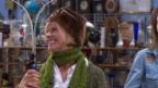 Video ««Miss Brocki»: Sabina Schneebeli als Schneehäschen» abspielen