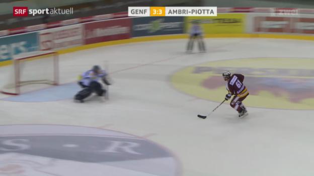 Video «Eishockey: Genf - Ambri» abspielen