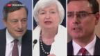 Video «Notenbankchefs entwickeln sich zu Sprachakrobaten» abspielen