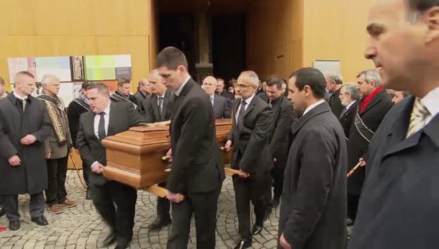 Video «Abschied von Sternekoch Benoît Violier» abspielen