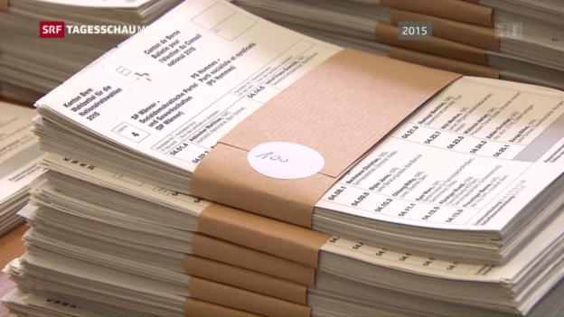 Video «Stabile Wählerschaft in der Schweiz» abspielen