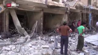 Video «Assad sucht den Schulterschluss mit Putin» abspielen