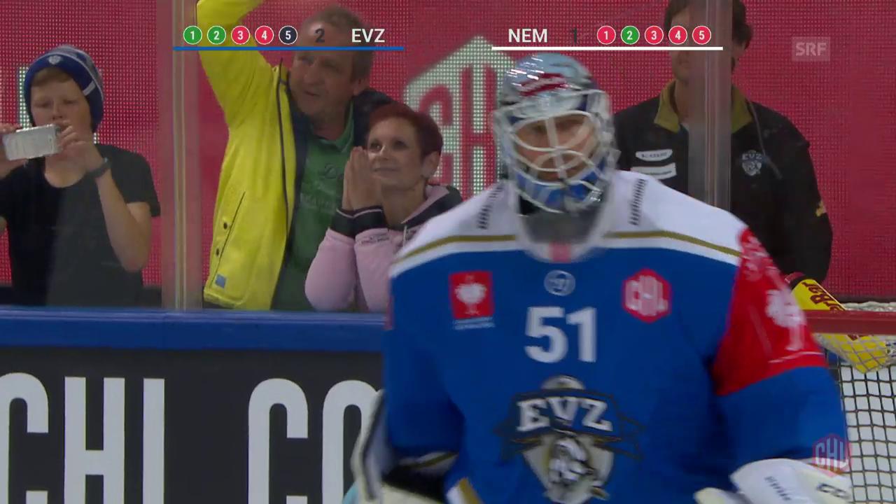 Im Penaltyschiessen: Zug bezwingt Neman Grodno