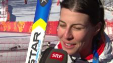 Video «Dominique Gisin im Interview (sotschi direkt, 08.02.2014)» abspielen