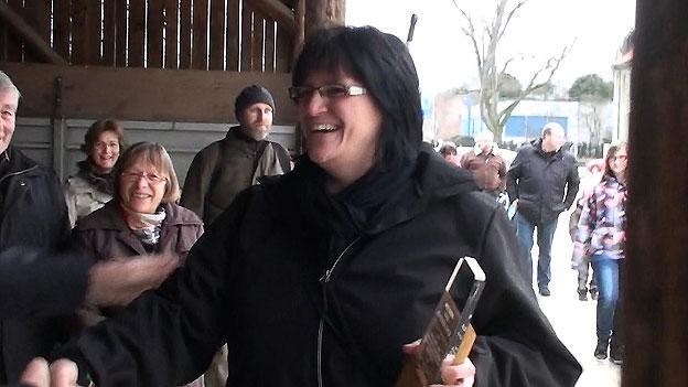 Karin Boss-Röthlisberger über den Empfang in ihrer Heimatgemeinde