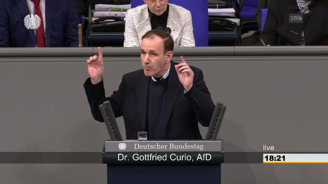AfD-Politiker Gottfried Curio zum Fall Yücel