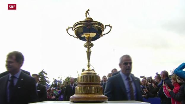 Video «Golf: Vorschau auf den Ryder Cup» abspielen