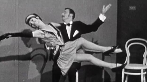 Video «Tanz der 1920er: «Black Bottom» in einer TV-Show (undatiert)» abspielen
