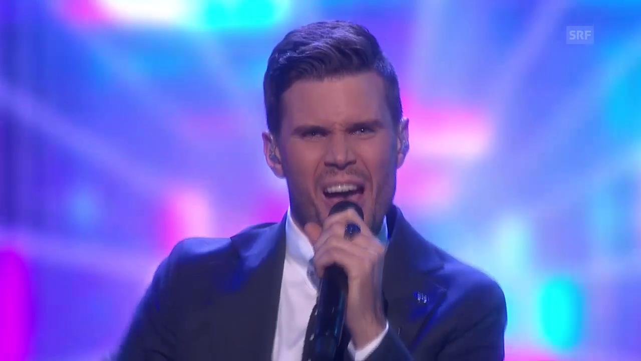 Schweden - Robin Bengtsson mit «I Can't Go On»