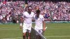 Video «Tennis: Wimbledon, Federer - Dzumhur» abspielen
