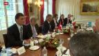 Video «Italienische Aussenministerin in der Schweiz» abspielen