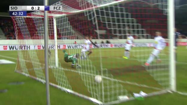 Video «Der Kerschakow-Doppelpack gegen Sion» abspielen