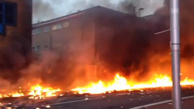 Der Helikopter schlug mitten in London auf (unkomm.)