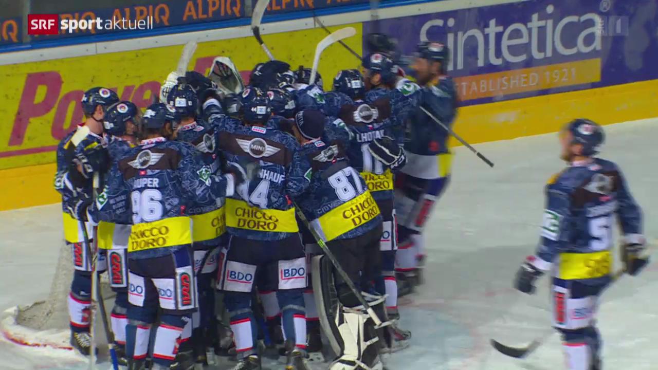 Eishockey: NLA, Ambri - Lugano