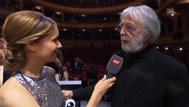 Video «Michael Haneke: Zürich feiert den Regisseur» abspielen