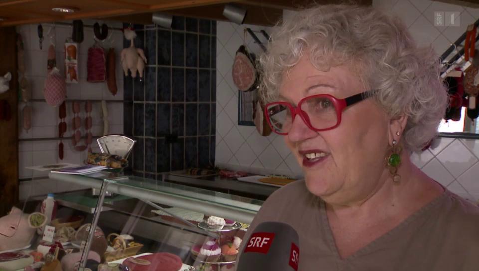 Ausgefallene Kunst: «Madame Tricot» strickt allerhand