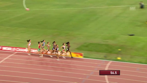 Video «Leichtathletik WM: 800 m Frauen Final» abspielen