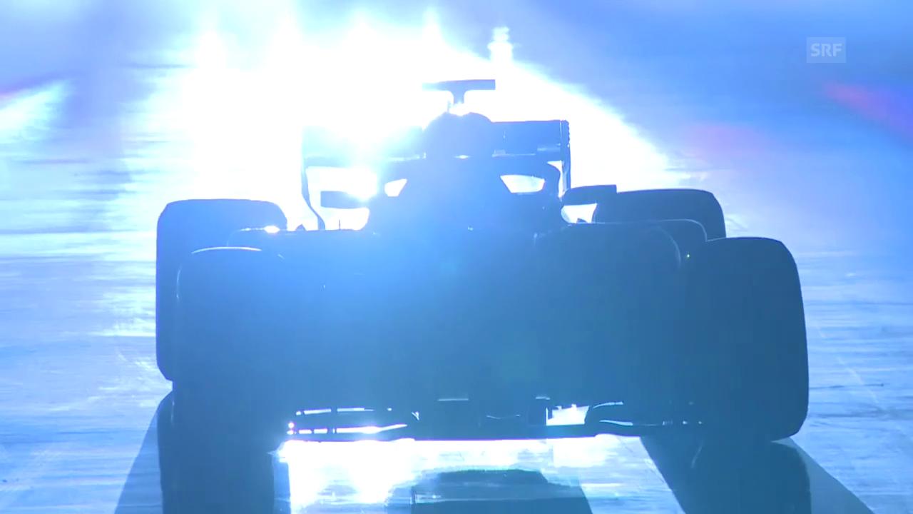 Mercedes präsentiert seinen neuen Boliden
