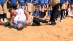 Video «Schwingercamp: Nachwuchsförderung auf höchstem Niveau» abspielen