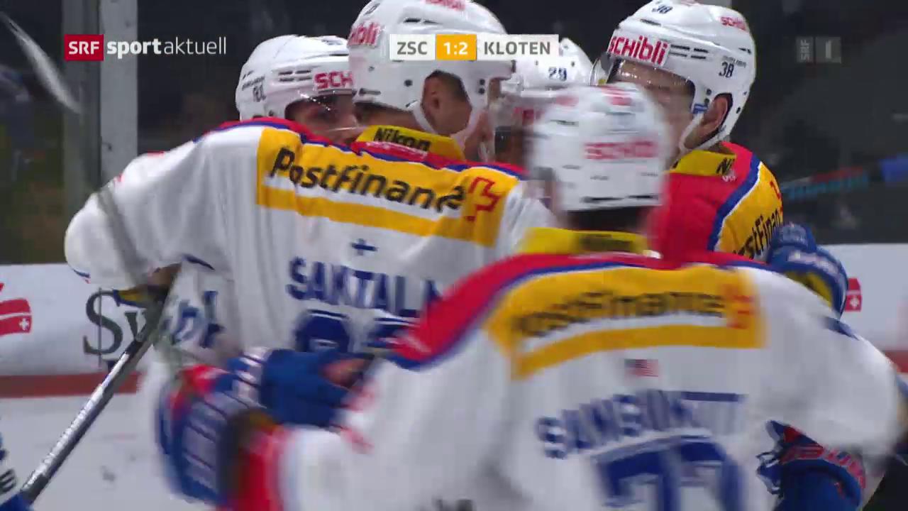 Eishockey: NLA, ZSC Lions - Kloten